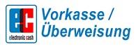 Vorkasse / Überweisung Logo:
