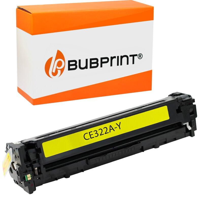 Recycelt Toner kompatibel für HP CE322A 128A für Color LaserJet Pro CM1415FN CM1415FNW CP1525 CP1525N CP1525NW 1400 Seiten Gelb
