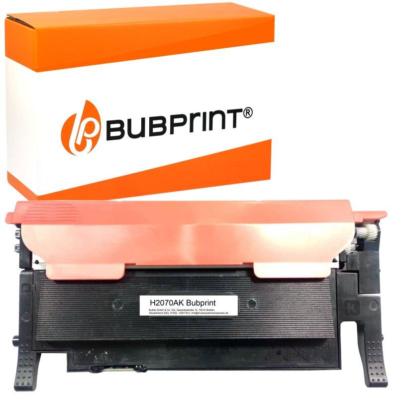 Bubprint Toner kompatibel für HP 117A W2070A MIT CHIP Schwarz Black