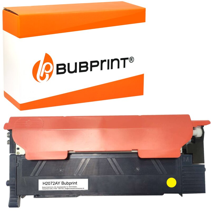 Bubprint Toner kompatibel für HP 117A W2072A MIT CHIP Gelb Yellow