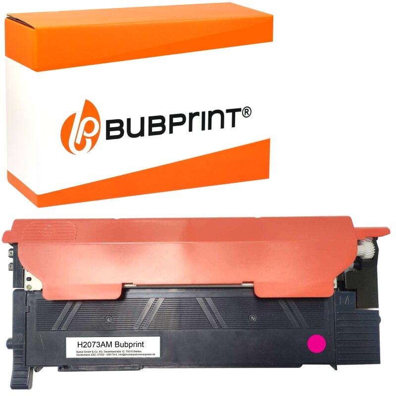 Bubprint Toner kompatibel für HP 117A W2073A MIT CHIP Magenta