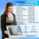 Bubprint 5 Tintentank kompatibel für Epson 104 EcoTank Set Schwarz Cyan Magenta Gelb