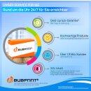 Bubprint Druckerpatrone T9452 XL Cyan kompatibel für Epson WorkForce Pro WF-C5210DW WF-C5290DW Neue Chip Version