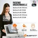 Bubprint 5 Druckerpatronen kompatibel für Epson...