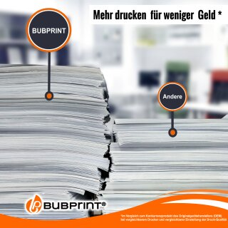 Bubprint 5 Druckerpatronen kompatibel für Epson WorkForce Pro WF-4720DWF WF-4725DWF 4740 Neue Chip Version