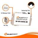 Bubprint Druckerpatrone Schwarz kompatibel für Epson 502XL XP 5100 WF-2860DWF WF-2865DWF Neue Chip Version