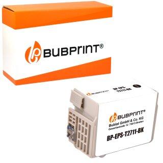 Bubprint Druckerpatrone kompatibel für Epson T2701 T2711 T2791 für Workforce WF-3620DWF WF-3620WF WF-3640DTWF WF-7110DTW WF-7610DWF WF-7620DTWF Black Neue Chip Version