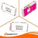 Bubprint Druckerpatrone XL Magenta kompatibel für Epson WorkForce Pro WF-4720 WF-4725 DWF Neue Chip Version