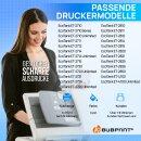 Bubprint Druckerpatrone kompatibel für Epson 104 EcoTank ET-4700 ET-2720 ET-2710 ET-2711 ET-2712 ET-2714 ET-2715 ET-2721 ET-2726 Cyan