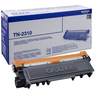 ORIGINAL TN2310 BROTHER DCPL2500DN TONER BLACK ST