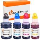 4 Tintentank kompatibel für Epson 102 EcoTank...