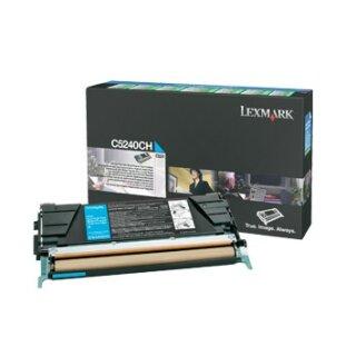 ORIGINAL C5240CH LEXMARK C524 TONER CYAN HC