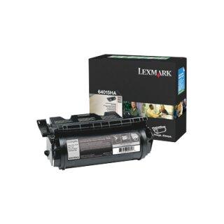 ORIGINAL 64016HE LEXMARK T640 CARTRIDGE BLACK HC