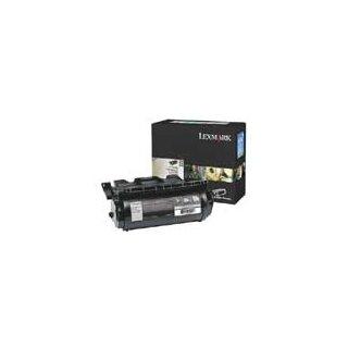ORIGINAL 64080HW LEXMARK T640 REM. CARTR BLACK HC