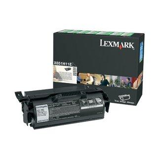 ORIGINAL X651H11E LEXMARK X651 CARTRIDGE BLACK HC