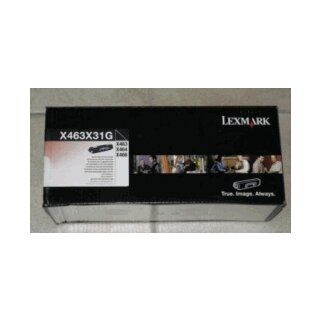 ORIGINAL X463X31G LEXMARK X463 PROJ TONER BLK EHC