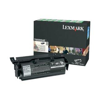 ORIGINAL T650H04E LEXMARK T650 CARTRIDGE BLACK HC