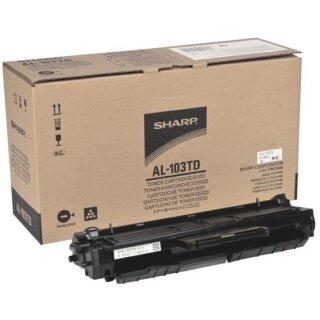 ORIGINAL AL103T SHARP AL1035SG TONER BLACK
