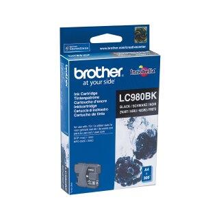 ORIGINAL LC980BK BROTHER DCP145C TINTE BLACK