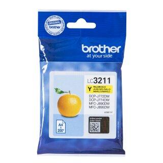 ORIGINAL LC3211Y BROTHER DCPJ772DW TINTE YEL ST