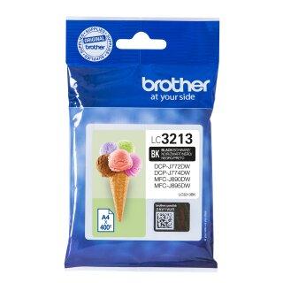 ORIGINAL LC3213BK BROTHER DCPJ772DW TINTE BLK HC