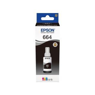 ORIGINAL C13T664140 EPSON L355 TINTE BLACK