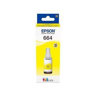 ORIGINAL C13T664440 EPSON L355 TINTE YELLOW