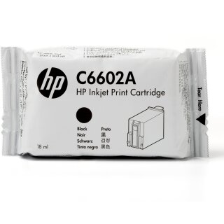 ORIGINAL C6602A HP TIJ 1.0B TINTE BLACK