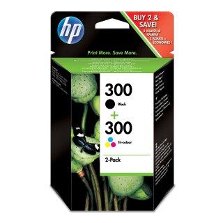 ORIGINAL CN637EE HP DJD2560 TINTE (2) BLK+COL