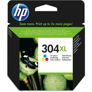 ORIGINAL N9K07AE#UUS HP DJ3720 TINTE COLOR HC