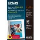 ORIGINAL Epson Papier Weiss C13S041765 Premium Semigloss...