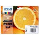 ORIGINAL Epson Multipack Schwarz / Cyan / Magenta / Gelb...