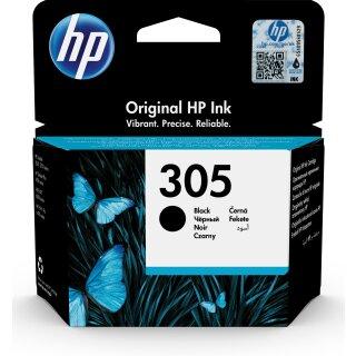 ORIGINAL HP Tintenpatrone Schwarz 3YM62AE 305 XL ~240 Seiten