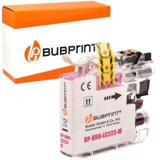 Bubprint Druckerpatrone kompatibel für Brother Magenta LC-223 LC-225 LC-227 LC223 XL DCP-J 562 DW