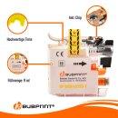 Bubprint Druckerpatrone kompatibel für Brother Yellow LC-223 LC-225 LC-227 XL DCP-J 562 DW