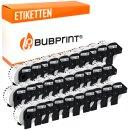 Bubprint 30x Etiketten kompatibel für Brother...
