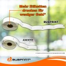 Bubprint 30x Etiketten kompatibel für Brother DK-22223 50mm x 30,48m SET