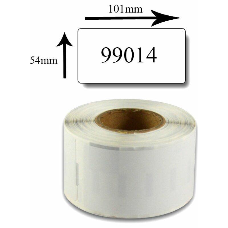 Bubprint Etiketten kompatibel für Dymo 99014 S0722430 Versand-Etiketten, 101x54mm