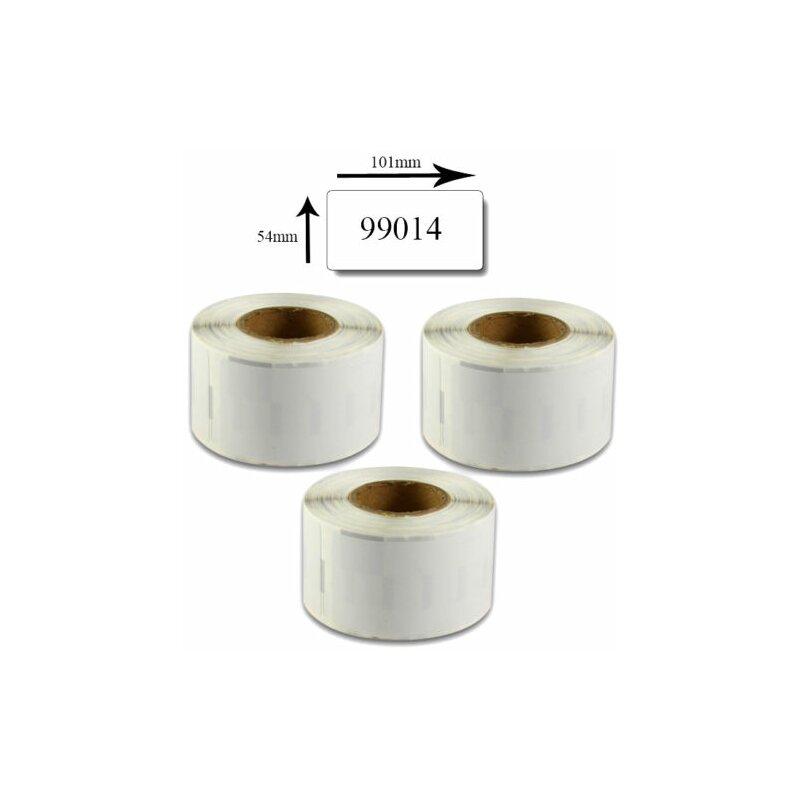 Bubprint 3x Etiketten kompatibel für Dymo 99014 Versand-Etiketten, 101x54mm SET