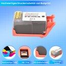 Bubprint Druckerpatrone kompatibel für HP 934XL Black mit Chip und Füllstand