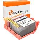 Bubprint 4 Druckerpatronen kompatibel für HP 934XL...