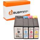 Bubprint 4 Druckerpatronen kompatibel für Canon...