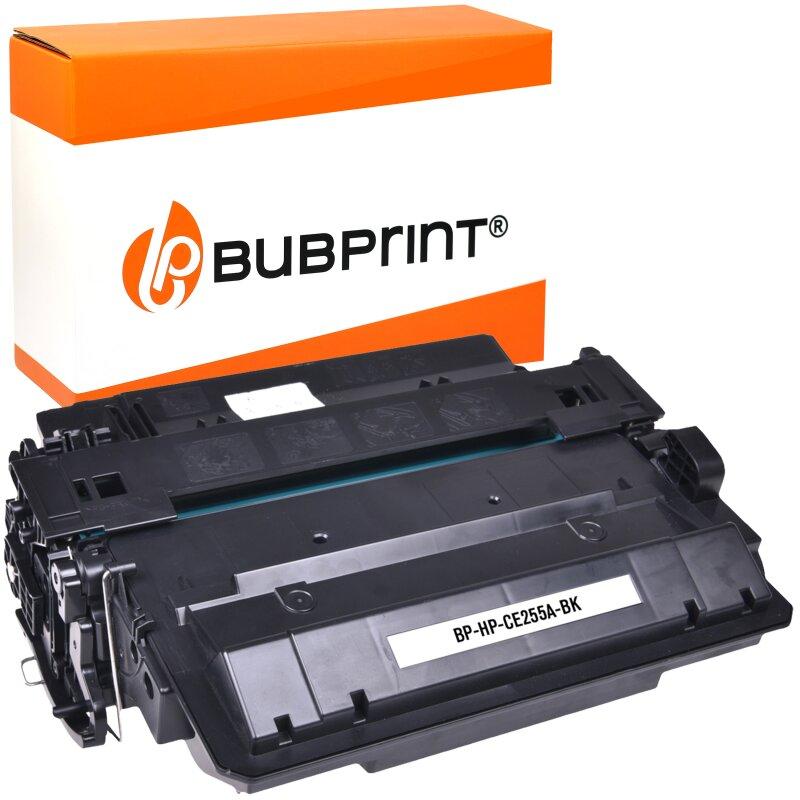 Bubprint Toner black kompatibel für HP LaserJet CE255A 6.000 Seiten black
