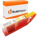Bubprint Druckerpatrone yellow kompatibel für Canon...