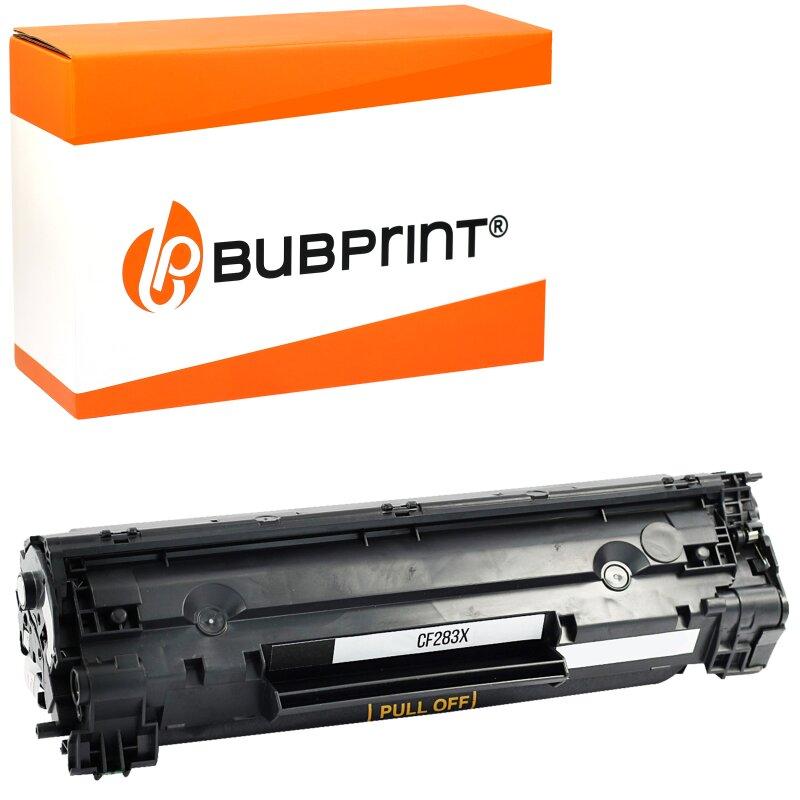 Bubprint Toner kompatibel für HP CF283X black HP LaserJet Pro MFP M 225 dn