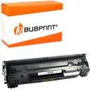 Bubprint Toner kompatibel für HP CF283X black HP...