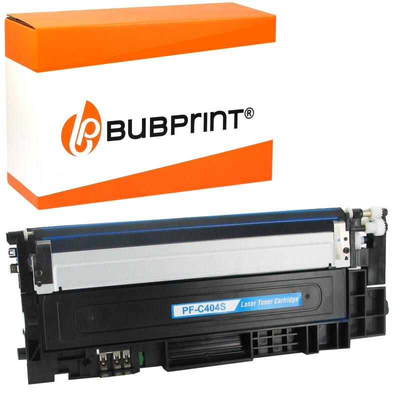 Bubprint Toner kompatibel für Samsung CLT-404S cyan Xpress C430 C480
