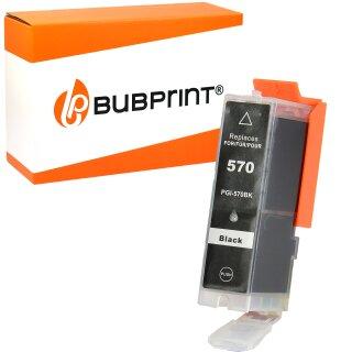 Bubprint Druckerpatrone kompatibel für Canon PGI-570 PGBKXL schwarz pigmentiert black