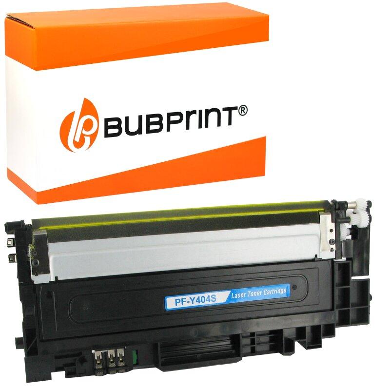 Bubprint Toner kompatibel für Samsung CLT-404S yellow Xpress C430 C480