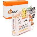 Bubprint Druckerpatrone kompatibel für Brother LC-22...